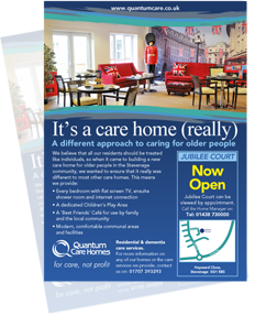 Care Home Advertising