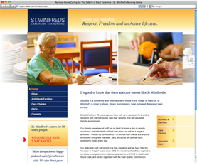 Care Home Promotional Websites
